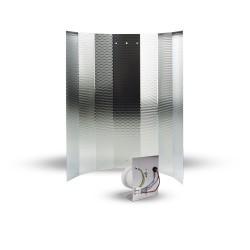 Mithralit Reflektor mit E40 Fassung
