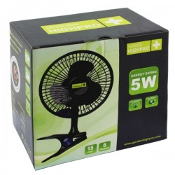 Garden Highpro Clipventilator 15 cm 5 Watt
