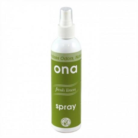 ONA SPRAY FRESH LINEN für die schnelle Geruchsbeseitigung 0,25 L Flasche