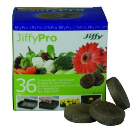 Jiffy Torfquelltabs 36 Stück / Packung