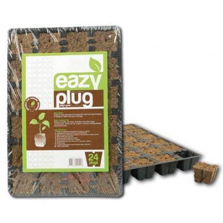 Eazy Plug® Anzuchtwürfel 30 x 20 x 3 cm Tablett á 24 Stk.