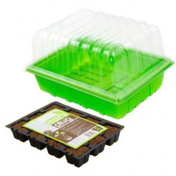 Eazyplug Tray 12 Stück + Gewächshaus