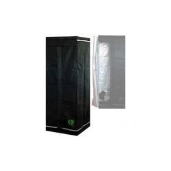 HomeLab 60 aufgebaut 60 x 60 x 160 cm Growbox