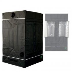 HomeLab 120 aufgebaut 120 x 120 x 200 cm Growbox von Eastside Impex