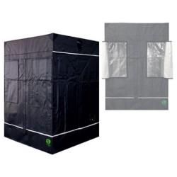 HomeLab 145 aufgebaut 145 x 145 x 200 cm Growbox von Eastside Impex