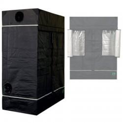 HomeLab 80 L aufgebaut 80 x 150 x 200 cm Growbox