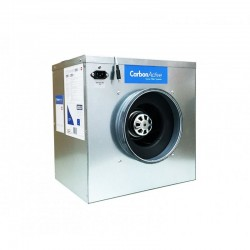 CarbonActive EC Silent Box 1500m³/h 250mm 750 Pa