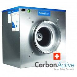 CarbonActive EC Silent Box 2200m³/h 315mm 1500 Pa