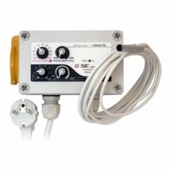 GSE Klimacontroller für Temp. Max-Min Drehzahl Begrenzung Abluft (1L HYS) 10A