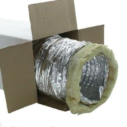 Isoflexschlauch für Anschluß 150mm 1m Sonodec