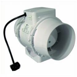 Rohrventilator 250m³//h 100mm Lüfter von Ventilution Rohrlüfter Lüfter Abluft