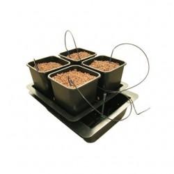 Nutriculture Atami Wilma System Small 4 Pflanzen 6L Topf Hydrosystem