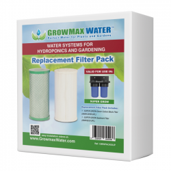 GrowMax Water Ersatzfilter - Paket Super Grow