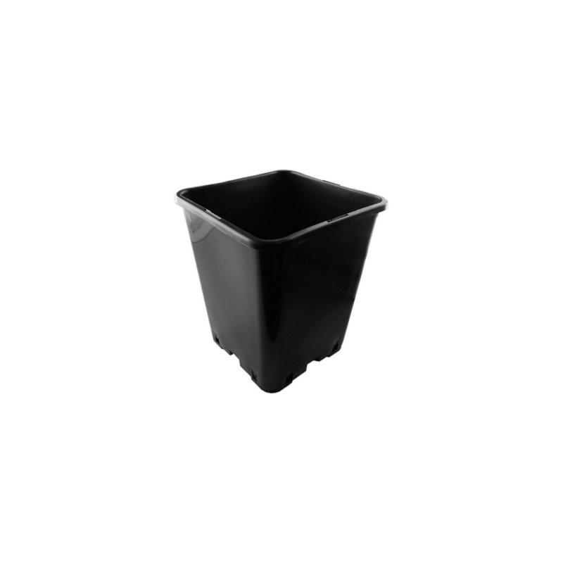topf bt viereckig schwarz 20 x 20 x 23cm circa 5 7 liter. Black Bedroom Furniture Sets. Home Design Ideas