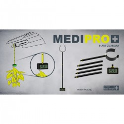 GHP Medipro Hygro Thermo Messstab 50cm Länge inkl. Hygro-Thermometer