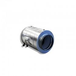 CarbonActive EC Silent Tube 750m³/h 200mm 610Pa