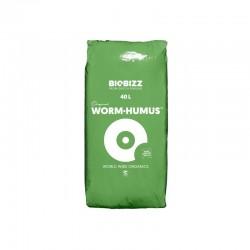 BioBizz Worm Humus 40 Liter Wurmerde Pflanzerde Bodenverbesserer
