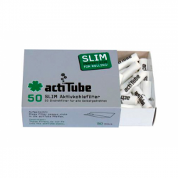 actiTube SLIM Filter 50 Stück