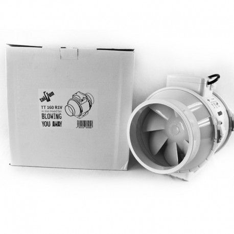 Taifun 2 Speed Inline Ventilator 405/520m³/h 160mm Flansch