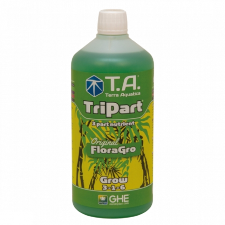 GHE FloraGro 1 Liter für perfektes Wachstum Wuchsdünger