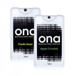 Ona Spray Card 12 ml Geruchsneutralisierer Apple Crumble