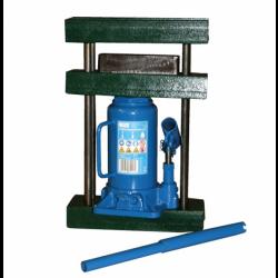 10-Tonnen-Presse mit Rahmen Pressform und 10-Tonnen-Hydraulikheber