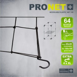 Garden Highpro Pronet Modulable 150 Rankhilfe Stütznetz Pflanzenstütze