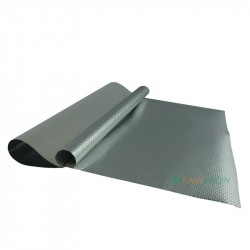 ECO Diamond Diffusion Silber Weiß Folie 10m Rolle