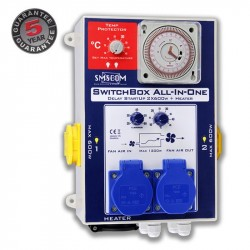 SMSCOM Switchbox ALL IN ONE 2 Lampen