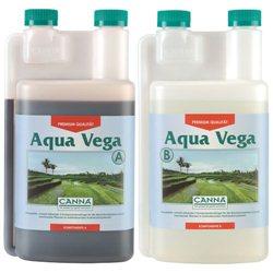 Canna Aqua Vega A&B 2 x 1,0L Hydro Wuchs Dünger Grow Hydrosystem