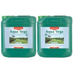 Canna Aqua Vega A&B 2 x 5,0L Hydro Wuchs Dünger Grow Hydrosystem