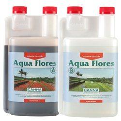 Canna Aqua Flores A&B 2 x 1,0L Hydro Dünger Grow Hydrosystem