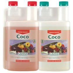 Canna Coco A&B 2 x 1,0L Dünger für Wuchs- und Blühphase auf Kokos