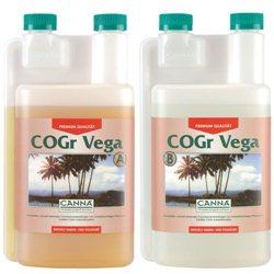 Canna COGR Vega A&B 2 x 1,0L Wuchsdünger Flüssigdünger Grow Dünger für Kokos