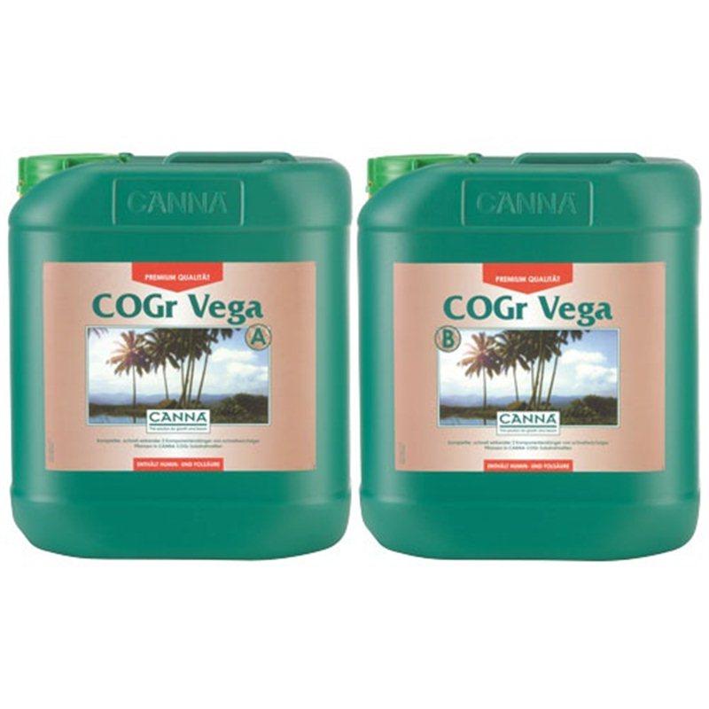 canna cogr vega a b 2 x 10l fl ssigd nger grow d nger f r kokos. Black Bedroom Furniture Sets. Home Design Ideas