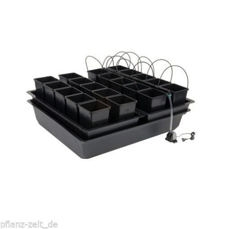 nutriculture atami wilma system 16 pflanzen hydrosystem. Black Bedroom Furniture Sets. Home Design Ideas