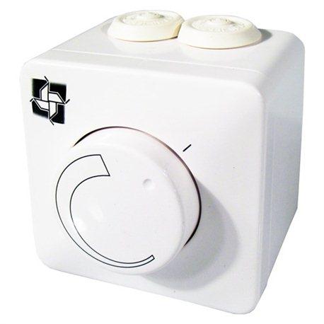 Drehzahlregler auf Putz zur Steuerung der Ventilatoren 2,5A