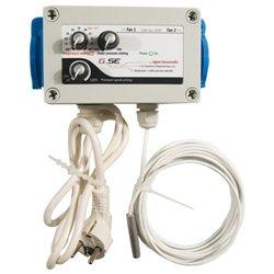 Klima-Regler 230V max. 600W Unterdruck Pressure
