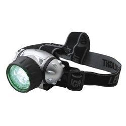 Grüne LED Kopfleuchte