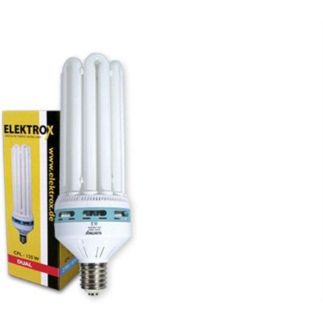 Energiesparlampe Elektrox 125 Watt dual 6U ESL