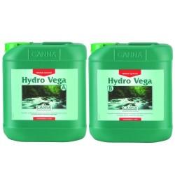 Canna Hydro Vega A&B 2 x 5,0L Dünger für Wachstum Wuchs Steinwolle Hydro