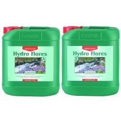 Canna Hydro Flores A&B 2 x 5,0L Dünger für Blüte Hydro Steinwolle Grow