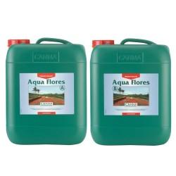 Canna Aqua Flores A&B 2 x 10,0L Hydro Dünger Grow Hydrosystem