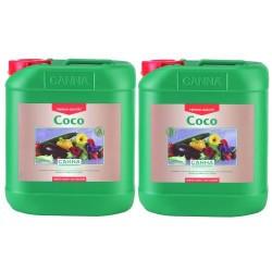 Canna Coco A&B 2 x 5,0L Dünger für Wuchs- und Blühphase auf Kokos