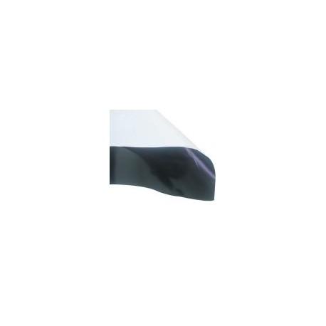 1x2m 2m² schwarz / weiß Folie 0,07mm
